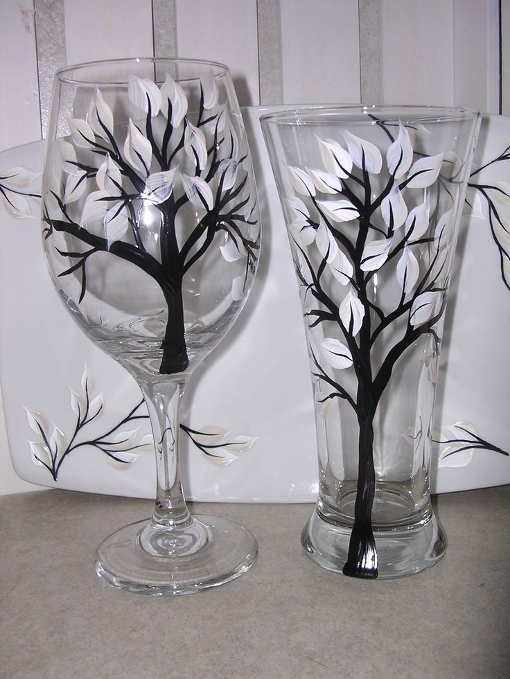 1000 ideas about glass painting designs on pinterest. Black Bedroom Furniture Sets. Home Design Ideas