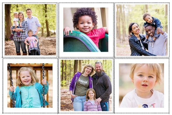 Forest Holidays Photo Sessions in Blackwood Forest