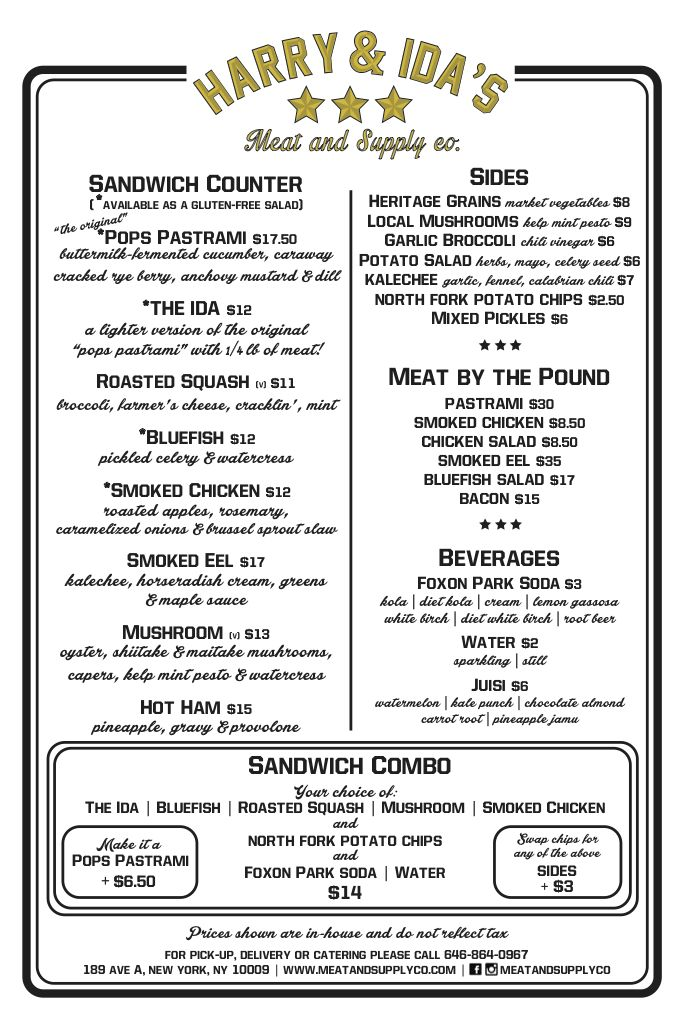 19 best Menu-spiration images on Pinterest Restaurant menu design - new blueprint brooklyn menu