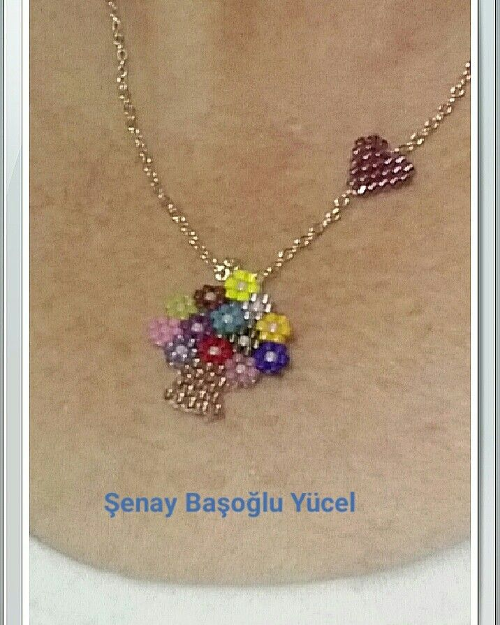 Flower Bouquet Pendant