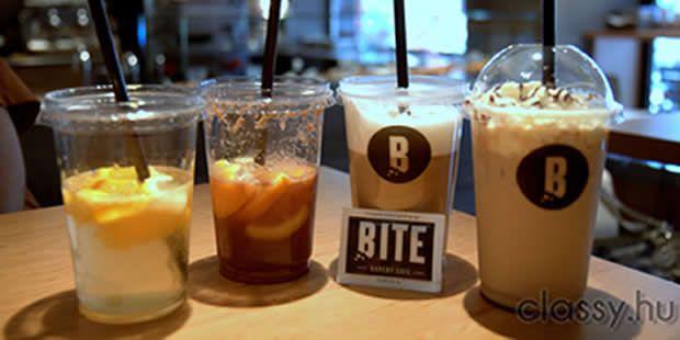 Ha különleges ízesítésű kávéra vágytok elérhető áron, akkor mi a BITE bakery café-t ajánljuk! És főleg a marcipános lattét, mmmm!