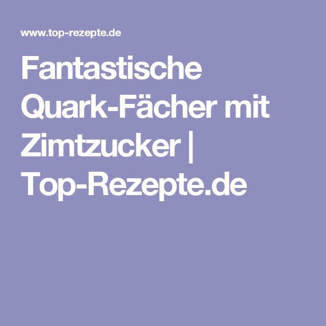 Fantastische Quark-Fächer mit Zimtzucker | Top-Rezepte.de