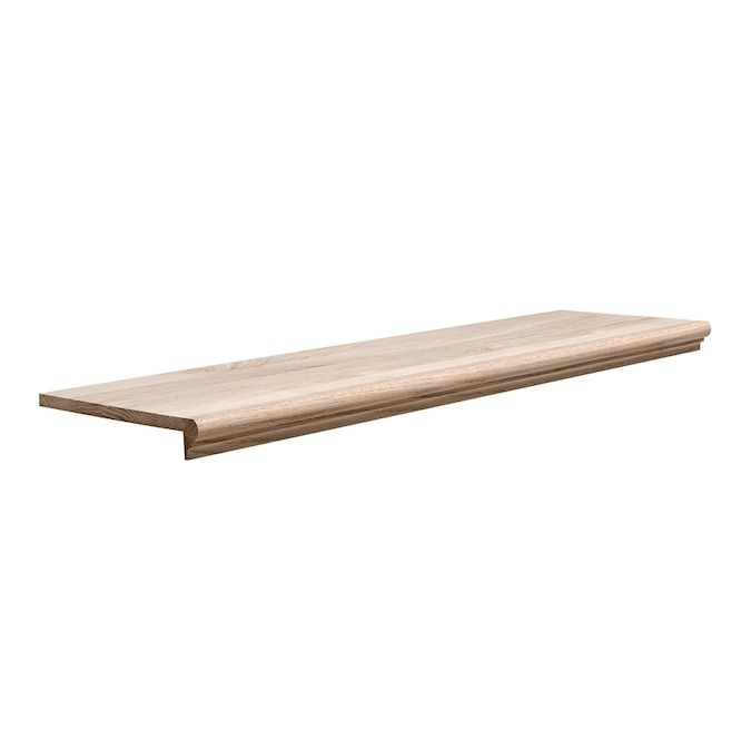 Pin On Diy Stairs   Wood Stair Treads Lowes   Pine Stair   Stair Nosing   Flooring   Pressure Treated   Maple Stair