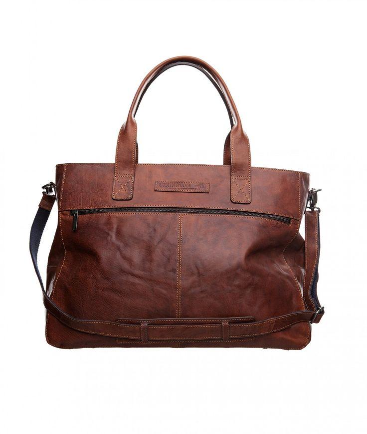 Meriden 48 hour Leather Bag, Sisustus Trendo