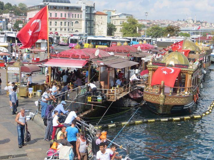 The city of bazaars, muezzin cries and plenty of çay. #turkey #istanbul #europe #city #fishing #bazaar #travel #blogpost #blog #blogging #diary