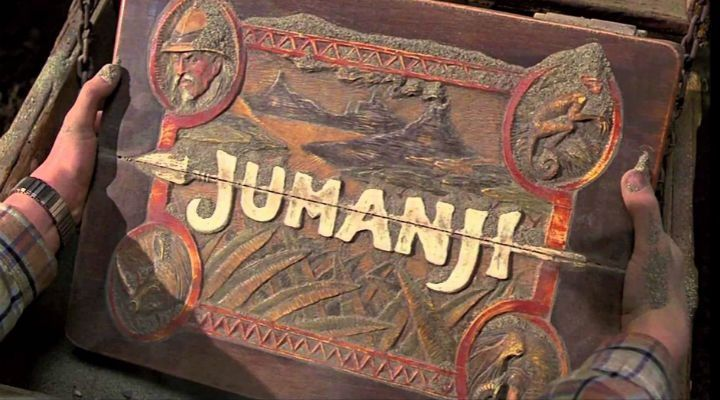 Jumanji: No sera un tablero si no un video juego