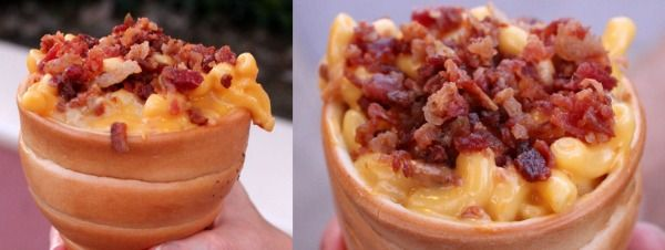 Giant Mac and Cheese Bread Cones Found at the Happiest Place on Earth |Foodbeast