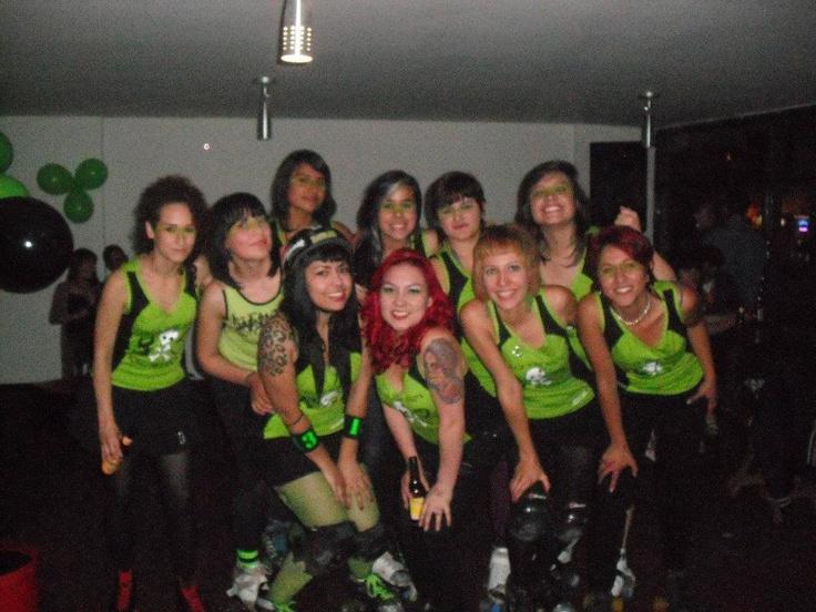Roller Derby Bogota Colombia, Bone Breakers.
