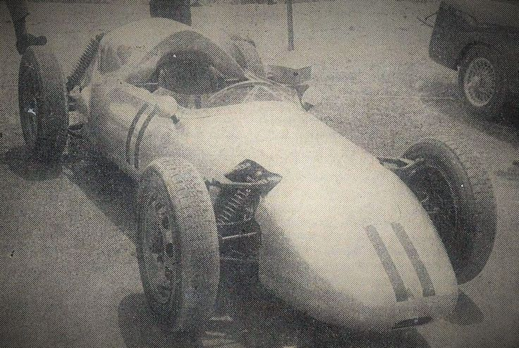 The Jennings Porsche at its first race
