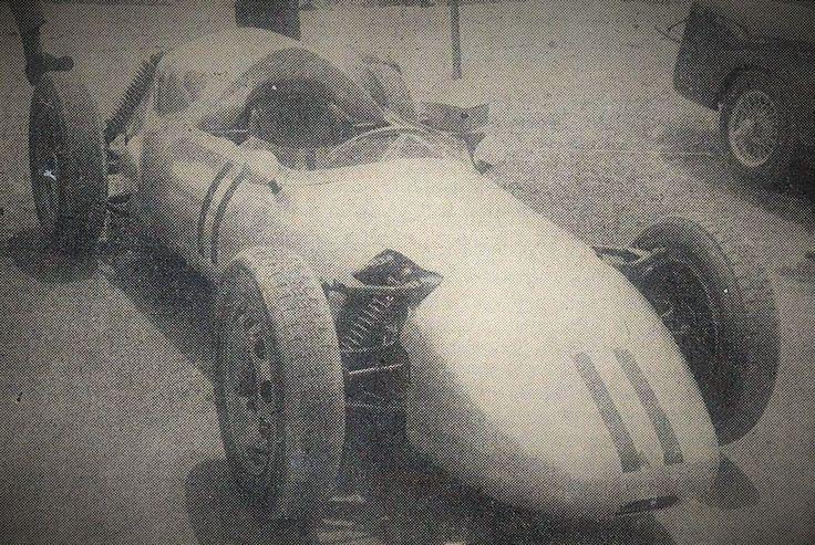 The Jennings Porsche at its first race