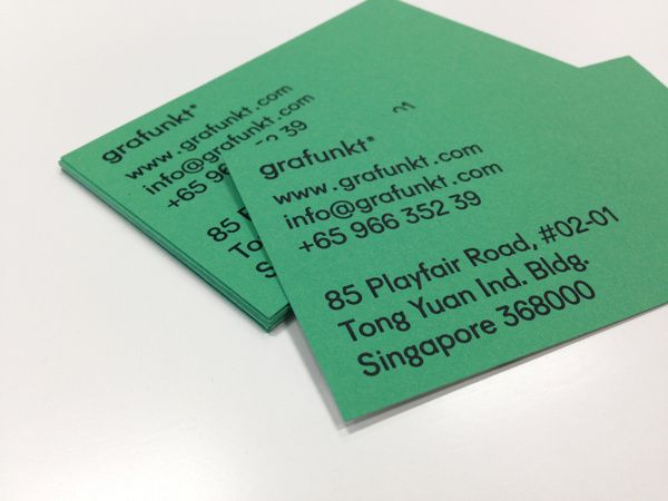 Daily Designer in Business card