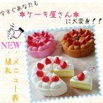 大人気!【なりきりセット】ミニケーキ