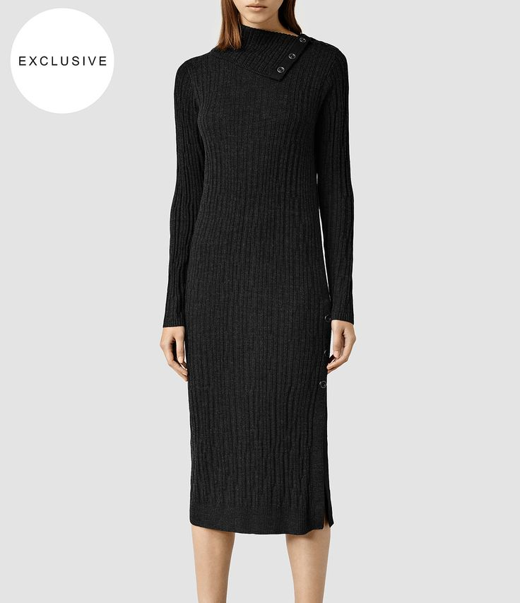Women's Malin Dress (Cinder Marl) - product_image_alt_text_1