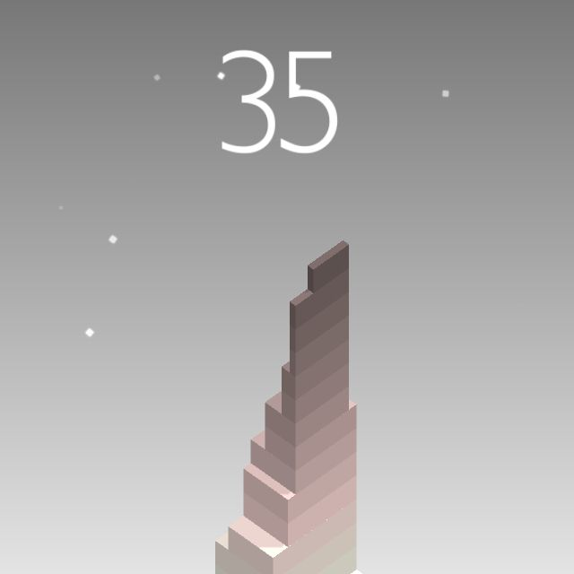 I scored 35 points in #Stack https://itunes.apple.com/app/stack/id1080487957