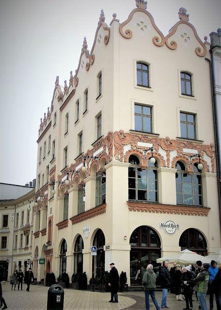 WWW Wiersze Wycieczki Wspomnienia: Secesja w Krakowie, wybrane budowle