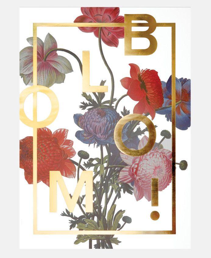 Bloom Print in Flowers