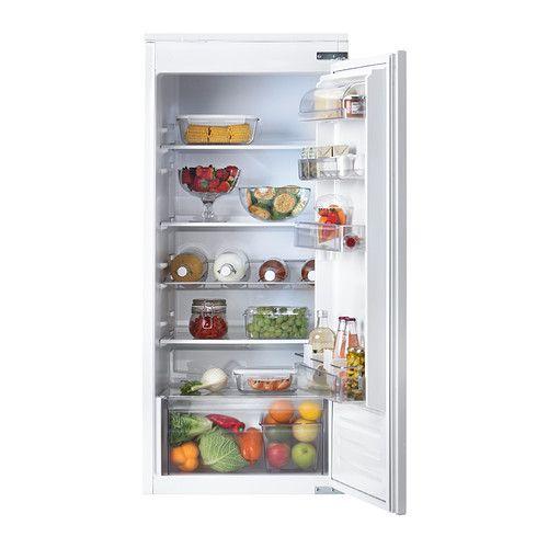 AVKYLD Réfrigérateur encastrable A+  - IKEA Hauteur: 122.0 cm