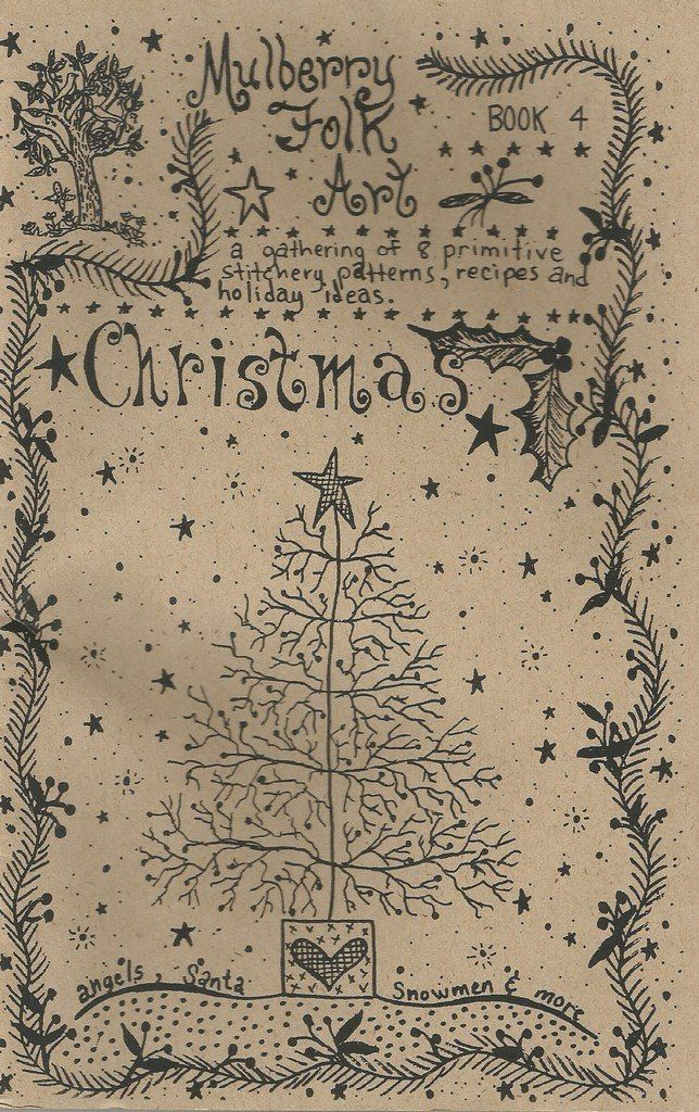 Mulberry+Folk+Arts+Christmas+Book+4+Primitive+Christmas+Patterns