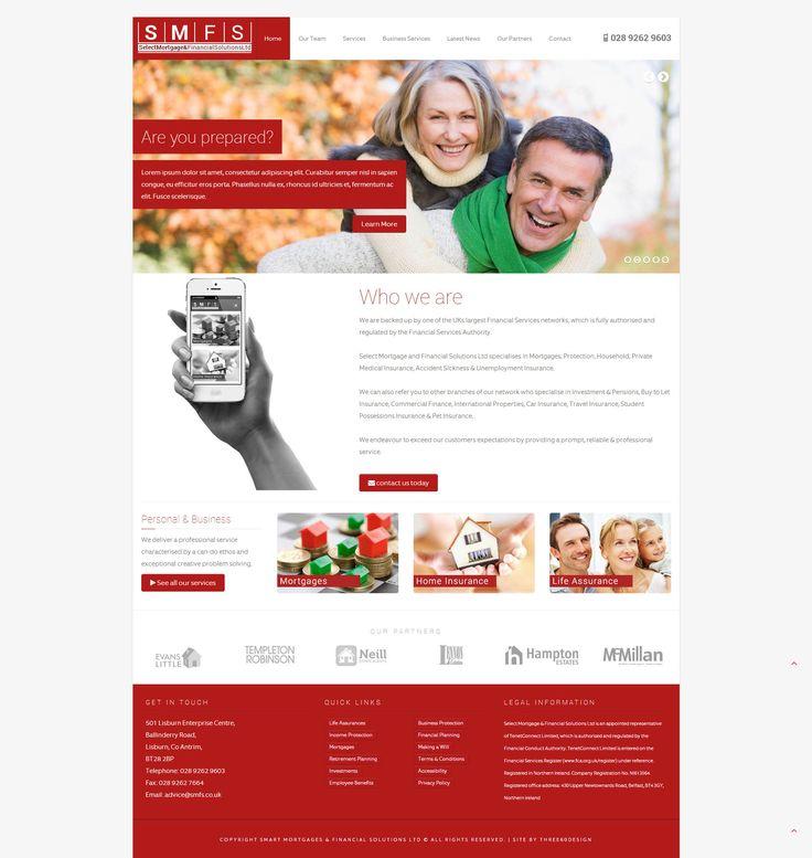 Select Mortgages & Financial Solutions - three60design Banbridge Northern Ireland - Web Design