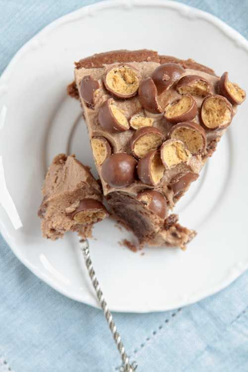 Ciasto czekoladowe z Malteserami