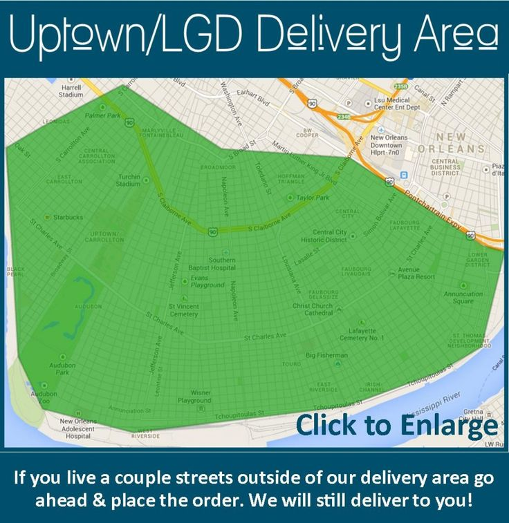 NOLA Food Delivery