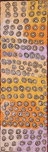 Rockhole of Nyilla (ancestral stories) http://www.aboriginalsignature.com/art-aborigene-papunya-tula/rockhole-of-nyilla-ancestral-stories