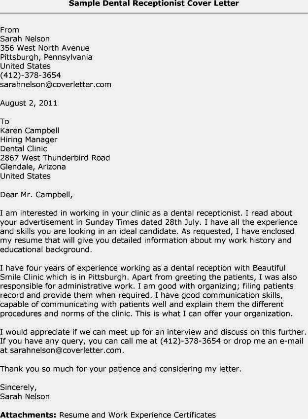 cover letter for receptionist with little experience.html