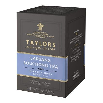 Our Lapsang Souchong tea is created in the mountains of China, where the leaves are dried on bamboo over smoking pine wood fires. It's one of the oldest tea-making methods in the world, and it gives t