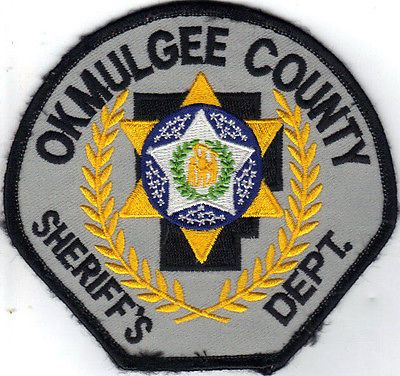 OKMULGEE COUNTY SHERIFF DEPARTMENT (OKLAHOMA) POLICE/SHERIFF PATCH