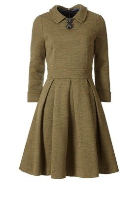 Orla Kiely dress...I think this would look really pretty in royal blue or emerald green.