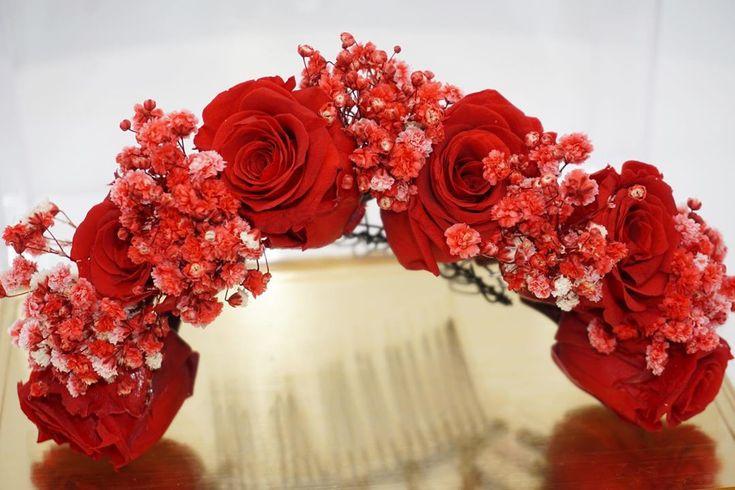The Red Wedding  #wedding #Flowers #realflowers #floral #elegant