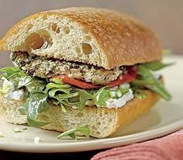 Panera recipe: pesto chicken sandwich with arugula | Food | Pinterest ...