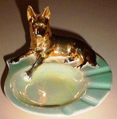 WEMBLEY WARE DINGO Ashtray VINTAGE Australian Pottery