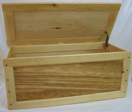 How to make a wooden toy box with lid woodworking