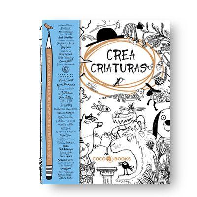 15€ Para dibujar CRIATURAS y bichos raros de la mano de cuarenta y un artistas e ilustradores de todo el mundo. Un emocionante trabajo de colaboración con los más importantes artistas internacionales de la ilustración infantil.