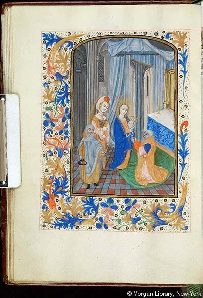 Book of Hours, MS S.1 fol. 36v - Images from Medieval and Renaissance Manuscripts - The Morgan Library & Museum