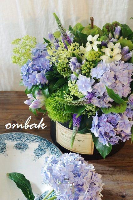 flowers.quenalbertini: Flower Arrangement   Ombak.WordPress