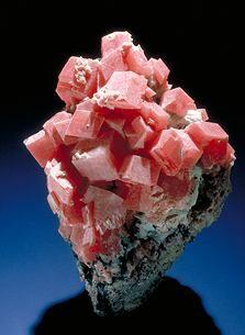 it looks like strawberry ice cream in a paper type cone, yummy no doubt. Rhodochrosite / Silverton, Colorado
