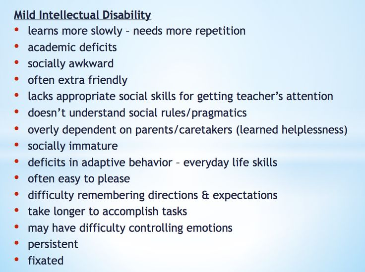 developmentally disabled mrlearning essay Rates of violence and abuse perpetrated on people with developmental disabilities (eg, mental retardation, autism) appear significantly higher than for people without these disabilities few of these crimes get reported to police, and even fewer are prosecuted because officials hesitate to pursue.