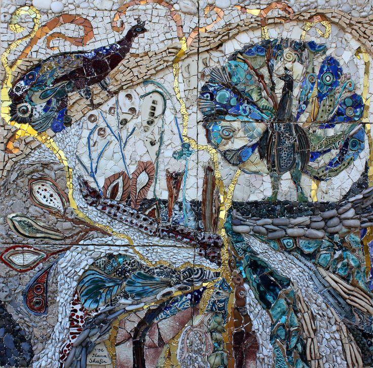 Ilana Shafir Honored with Solo Exhibition at Ravenna Mosaico 2011 2011 | Mosaic Art NOW