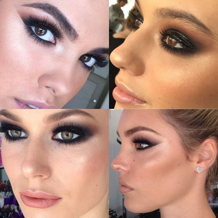 134 best Smokey eyes makeup inspiration images on Pinterest | Make ...