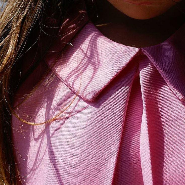 """""""""""The details are not the details.They make the design."""" Charles Eames #girls #dresses #pink #peterpancollar #kids #kidsfashion #evakay_thelittlecollection…"""""""