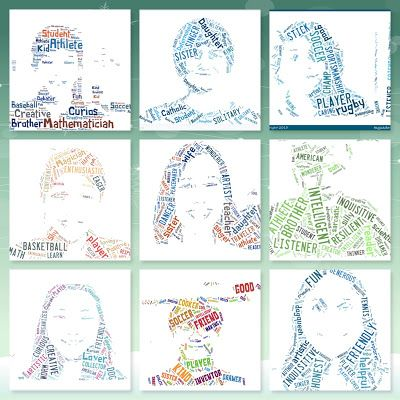 awesome way to create a tagxedo using character traits