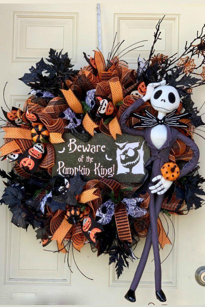 July Door Wreaths Centerpieces Halloween Wreath Disney Wreath Wreaths