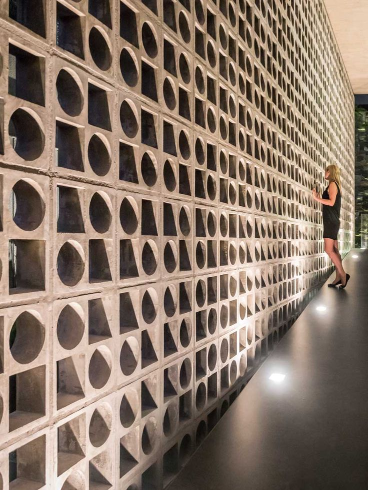 Architectural Wall Design architectural wood wall zainabie contemporary architectural wall Architectural Materials Studio Mk27 Together With Galeria Arquitetos Have Designed The Bb
