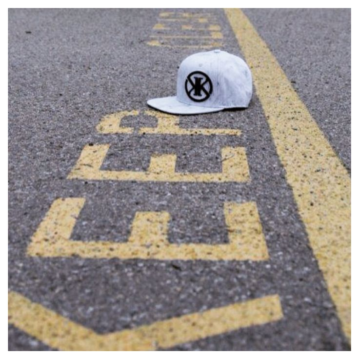 Marble print snapback by Kit and Krew