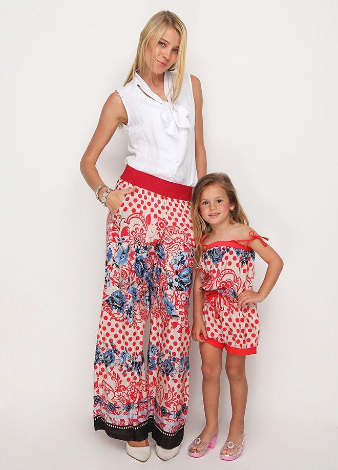 Moda: Anneler ve Kızları Pantolon Markafoni'de 59,99 TL yerine 19,99 TL! Satın almak için: http://www.markafoni.com/product/4402690/