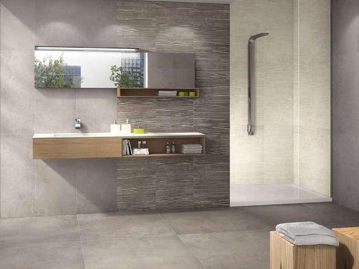 Piastrelle bagno moderno 2016   rivestimento in gres panaria ...