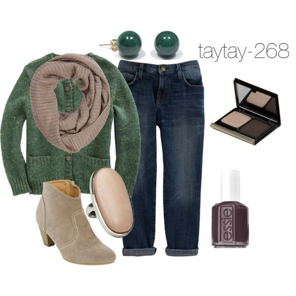 """""""Greyish Green"""" by taytay-268 on Polyvore"""