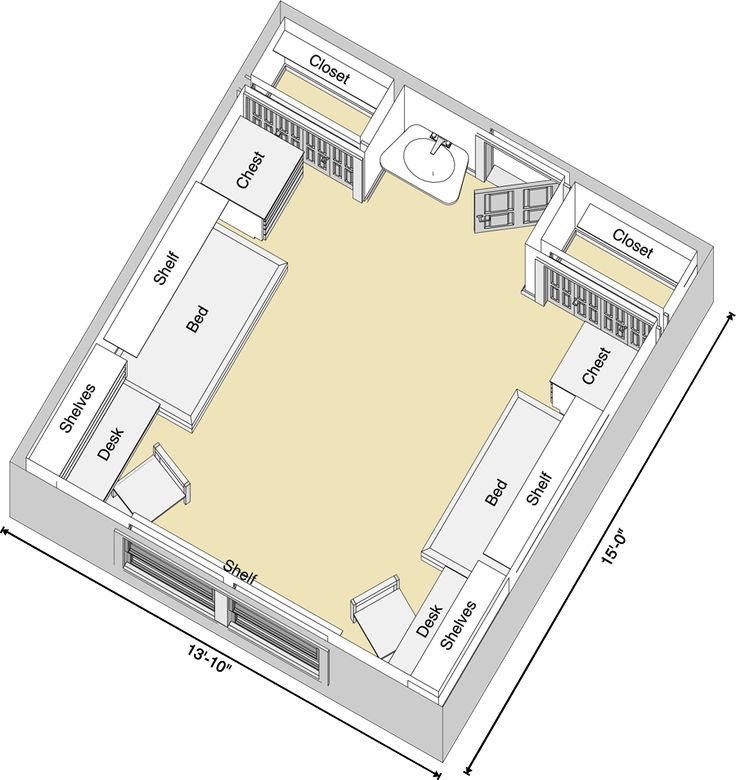 Stangel/Murdough Complex Floor Plan
